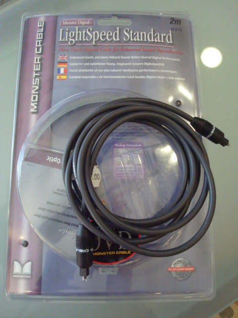 MONSTER CABLE LIGHT SPEED STANDARD 2MT