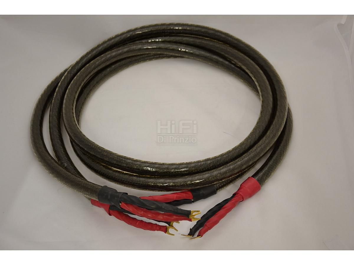 Straight-wire black silk speakers cable mt 2,40 -