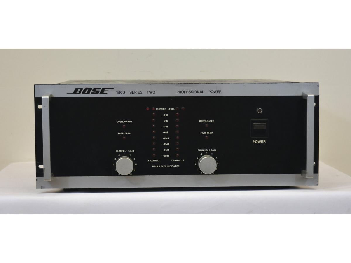 bose 1800 bose power amplifiers for sale on hi fi di. Black Bedroom Furniture Sets. Home Design Ideas