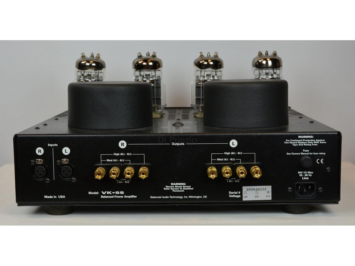 balanced audio technology vk-55se