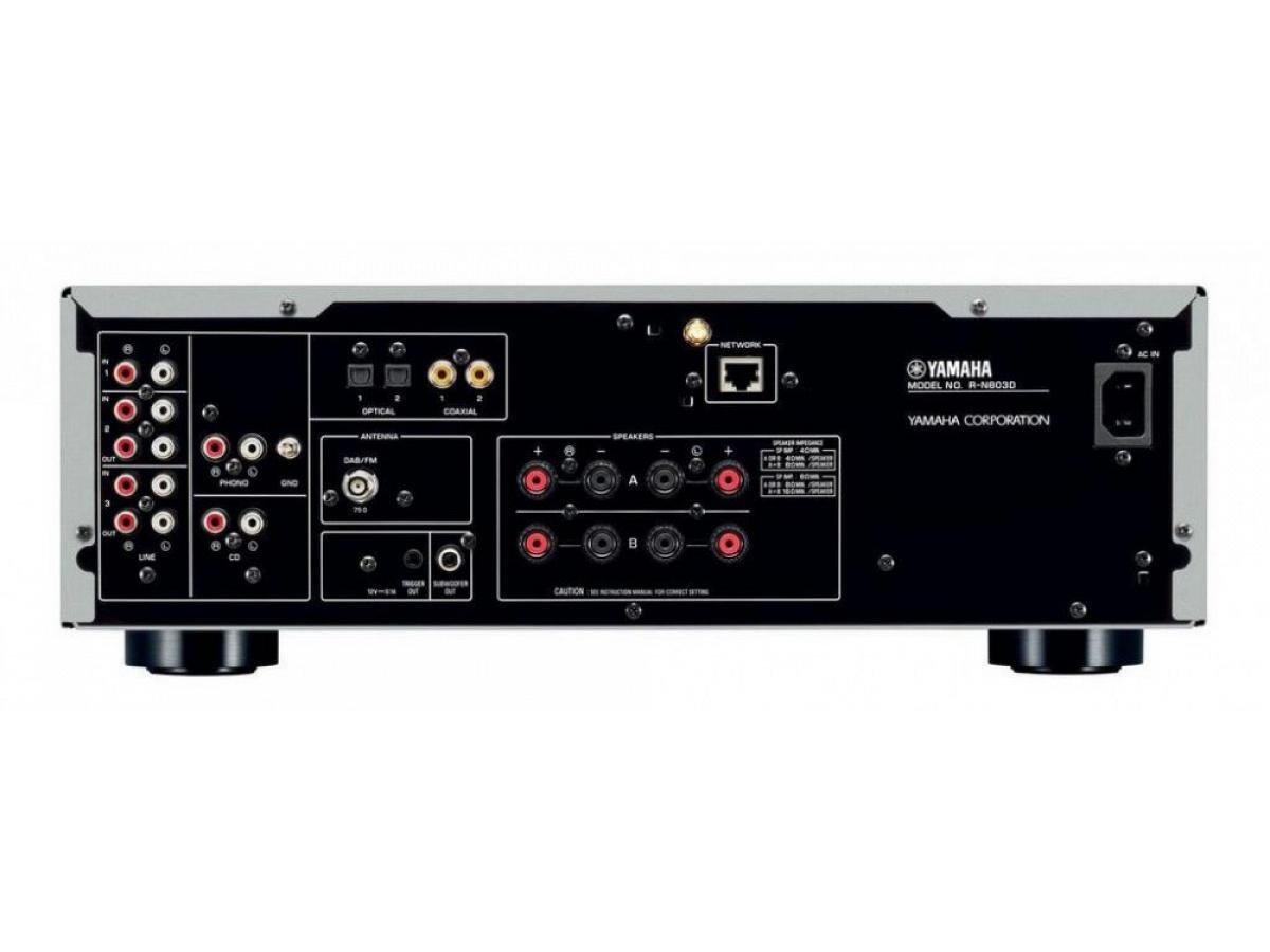 yamaha r n803d yamaha amplificatori integrati in vendita. Black Bedroom Furniture Sets. Home Design Ideas