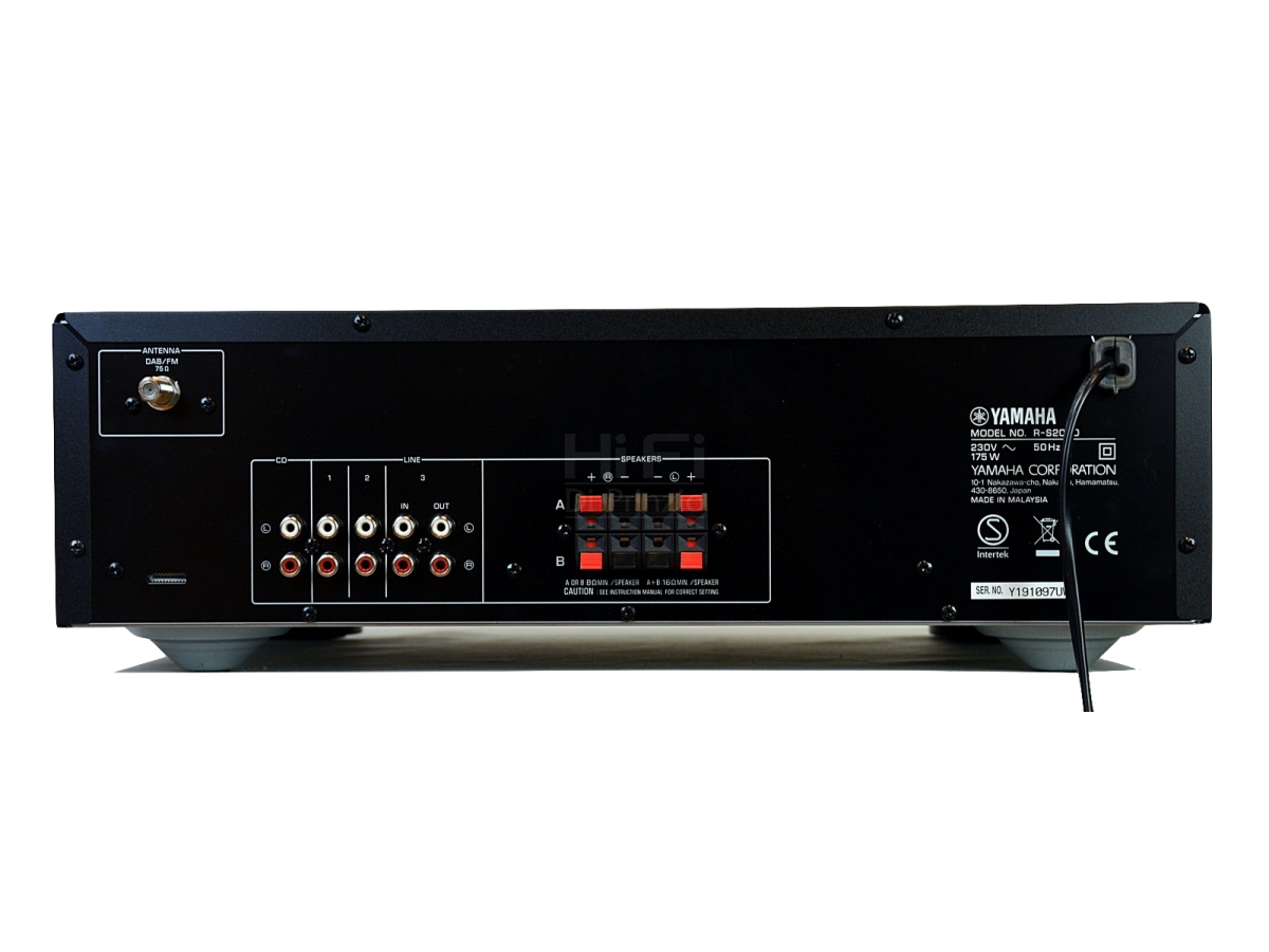 yamaha r s202d yamaha amplificatori integrati usati. Black Bedroom Furniture Sets. Home Design Ideas