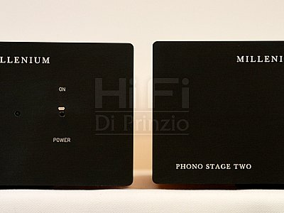 Millenium MILLENIUM PHONO STAGE ONE + PHONO STAGE 2  By Gentilucci